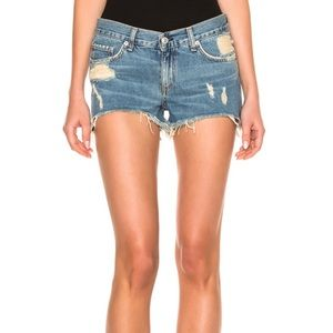 rag & bone | 'Winnie' Cut Off Denim Shorts